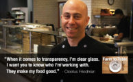 Chef Cleetus Friedman: Bringing Farm to Table to Fast-Casual