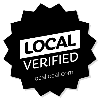 "The ""Local Verified"" logo that LocalLocal provides to businesses prove their local sourcing claims are true."