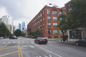 Chicago's downtown skyline is within eyeshot of Spoke and Bird, a casual restaurant with high farm to table values that is located in the South Loop neighborhood.