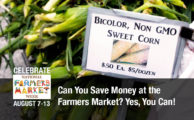 Farmers Markets on a Budget: Time to Save Some Change