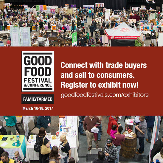 Good Food Festival Exhibitor Registration